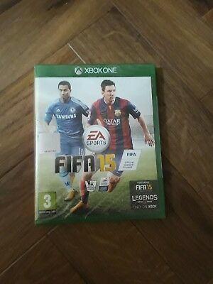 FIFA 15 ( XBOX ONE) Still Sealed in plastic wrapper  Free Postage