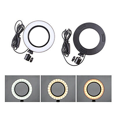 Dimmable Led Studio Camera Ring Light Photo Phone Video Light Annular Lamp Ry