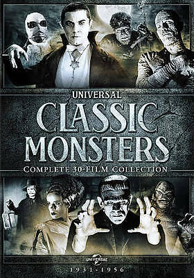 Universal Classic Monsters Complete 30 Film Collection 1931-1956