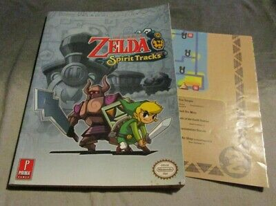 NO GAME - Zelda Spirit Tracks & POSTER! * STRATEGY GUIDE BOOK ONLY - DS GUIDE