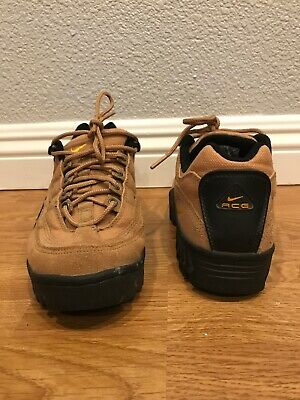 c30596b14a4 VINTAGE NIKE ACG Brown Suede Hiking Trail Boots Shoes Men's Size 8 ...