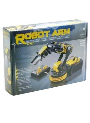 Rapid Robotic Robot Arm Kit - Wired Control ** Slightly Damaged Box**
