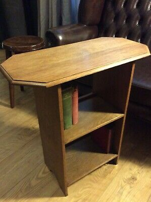 Arts And Crarfts Small Bookcase Table
