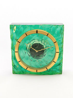 Rare Jaeger-LeCoultre table clock with 8-day movement, box and papers,1960´s