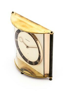 Rare Jaeger-LeCoultre table clock with 8 day movement , 1950´s
