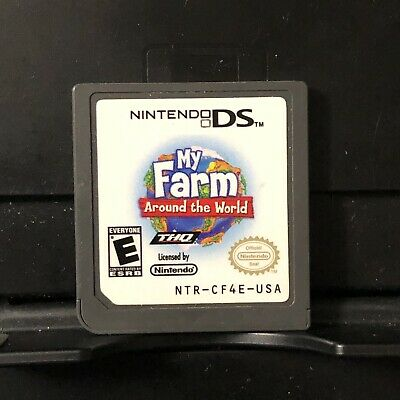 Nintendo DS DSi 3DS 2DS | My Farm Around The World | Game Only