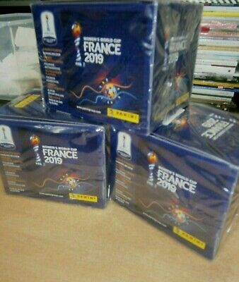 Panini Fifa Women's World Cup France 2019 Stickers Collection 10 25 50 packs