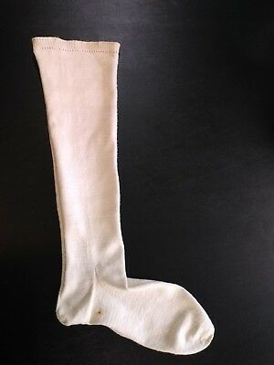 Antique Victorian Mid 1800s 19th Century Handmade Sock Stocking