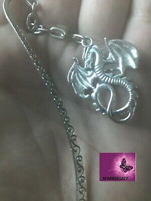 Dragon Daenerys Targaryen Game Of Thrones Silver Metal Bookmark Aus Seller