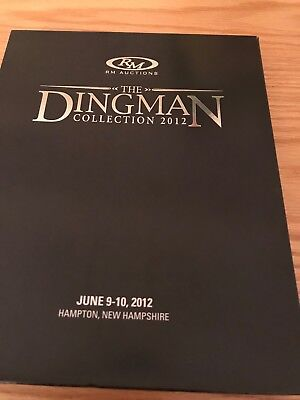 RM Auctions catalog, The Dingman Collection 2012, 2 Books including dust cover