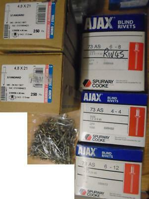 Box/bag of Blind Pop Rivets