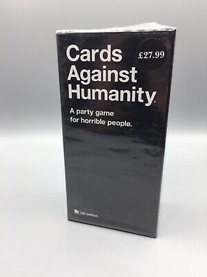 Cards Against Humanity UK Edition. New & Sealed.
