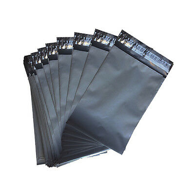 "1000 Bags 6"" x 9"" Grey Strong Plastic Mailing Post Poly Postage Mail Self Seal"
