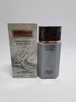 Ted Lapidus Lapidus Pour Homme After Shave ML Splash (No Spray) New & Rare