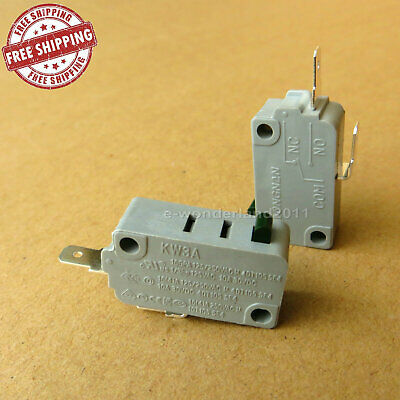 2 New Kw3A Normally Open Microwave Oven Door Micro Switch