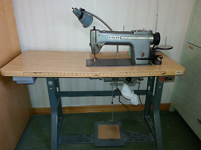 Singer Sewing Machine Commercial Industrial Professional W/Clutch Motor