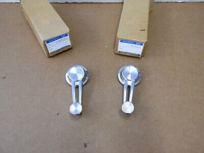 NOS PAIR 1963 1964 1965 1966 Chevy Gmc Truck Armrests Fawn