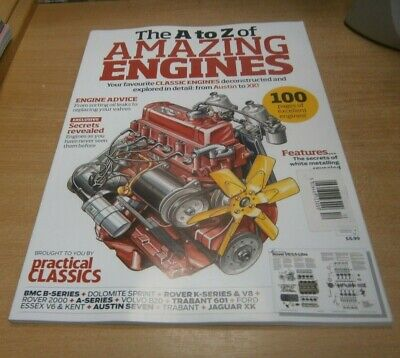 Practical Classics Guide magazine The A to Z of Amazing Engines