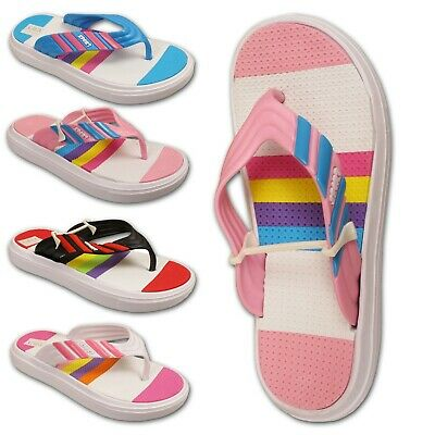 Ladies Toe Post Sandal Womens Sports Flip Flops Slip On Shoe Size UK 3 4 5 6 7 8