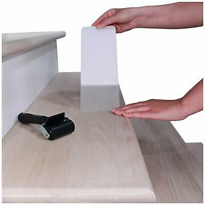 Discreet Non Slip Stair Tape Clear Anti Skid Safety Treads Strong Textured Grip