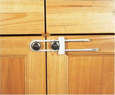 Clippasafe Cabinet Slide Lock Cupboard Child Baby Proofing Safety Catches Latch