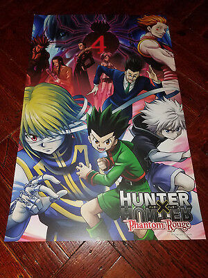 HUNTER X HUNTER Phantom Rouge Movie NYCC Comic Con 2017 Excl PROMO POSTER Anime