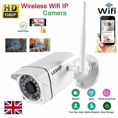 1080P Wireless Outdoor Smart Camera Home Security WiFi Video Baby Monitor Camera