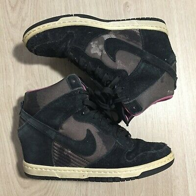 37 Militaire Nike Compensé Sky Basket 5 Dunk Style Taille High Rosenoirviolet F1cTlKJ