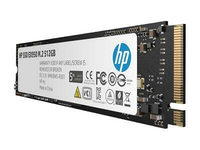 NEW HP EX950 SSD 512GB NVMe 3D TLC NAND 2280 M.2 PCIe 3.0 x4 Solid State Drive