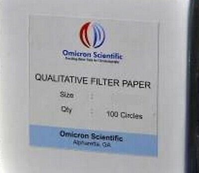 Omicron Qualitative Filter Paper 9.0cm 2000/Pk (Bulk Pricing)