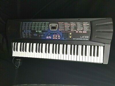 Casio LK-33 Electronic Keyboard With Lighting System 61 Key