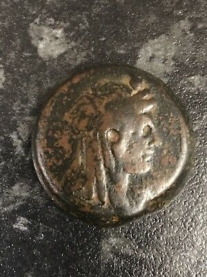 Ancient Greek, Ptolemaic, Egypt Cleopetra Large Bronze Coin