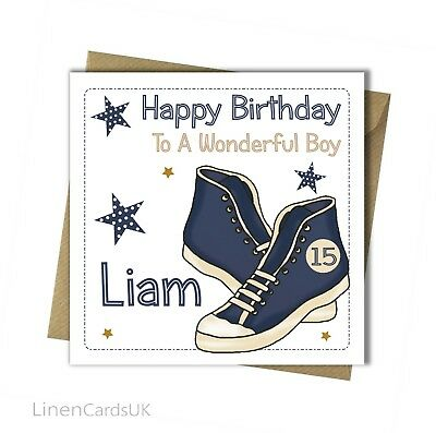 Personalised Handmade Male Birthday Card 18th 21st 30th 40th 50th Uncle Son
