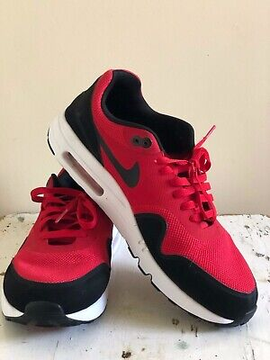 wholesale dealer 4637a bacf1 Nike Air Max 1 Ultra 2.0 Essential BRED RED BLACK 875679-600 US Men s Size