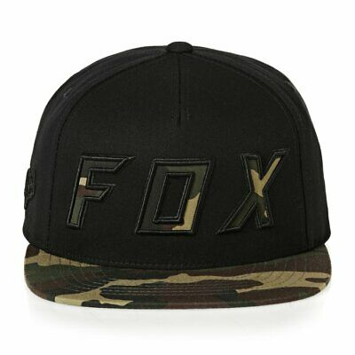 489d556f20daa0 Fox Racing Posessed Adult Baseball Snapback Hat Camouflage/Black One Size