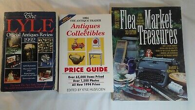 Antiques & Collectibles Flea Market Treasures Book Set of 3 Years 1992 1994 1995