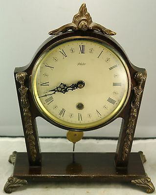 Antique Art Deco or Nouveau Mantel Clock by Plato, Made  Holland or Netherlands