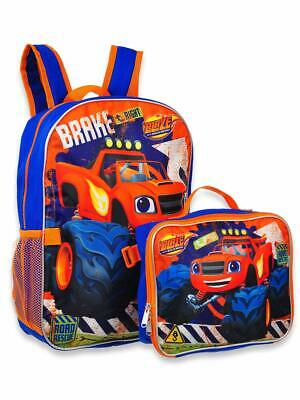 d975f4ee5dfe BLAZE AND THE Monster Machines Backpack with Lunch Box - 2 Piece Set ...