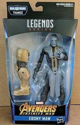 Marvel Legends Ebony Maw Avengers Endgame 2019 BAF Armored Thanos - New In Stock