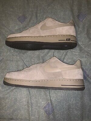 best sneakers cc90f 68a1f New Nike Air Force 1 Khaki Suede Size 11