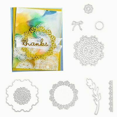 DEAR DOILY METAL Cutting Dies OR Stamps DIY Stencil Paper