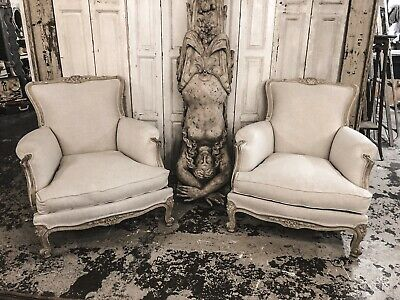 A Pair Of French Antique Armchairs