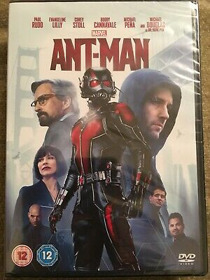 Ant Man with Paul Rudd (DVD 2015) New & Sealed