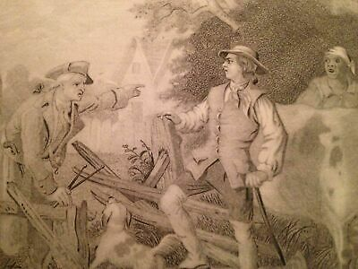 1860 GEORGE WASHINGTON Life of AMERICAN REVOLUTION Revolutionary War Engraving