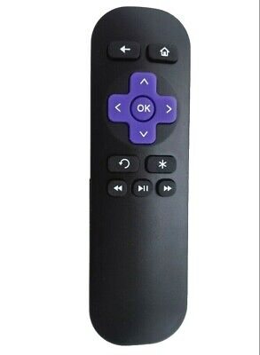 Replacement Remote Control for Roku 1 2 3 4 LT HD XD XS XDS 2450D 2710X 2710R