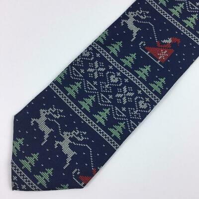 6bb7aff7df40 UGLY SWEATER TIES Christmas Necktie Mens Holiday Neckties Santa Neck ...