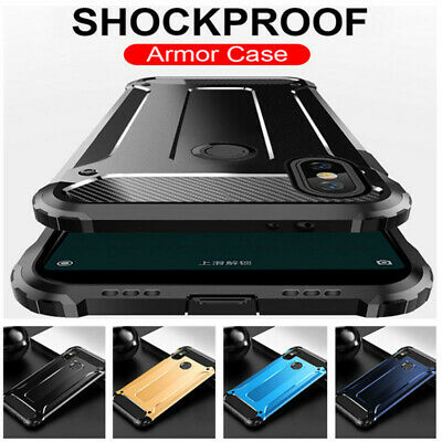 Shockproof Rugged Hybrid Armor Hard Case Cover For Xiaomi Redmi Note 7 6 Mi Play