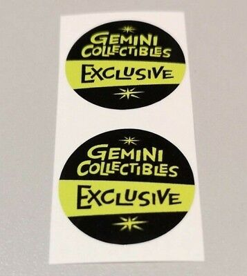 Funko POP! - Replacement Sticker - Gemini Collectibles (old) Excl. (sold indiv.)