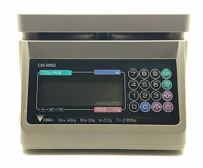 DIGI DS-682 DS 682 Digital Computing Price Programmable Weighing Scales