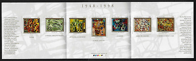 Canada Stamps — Booklet Pane of 7 — Art, The Automatistes #1743-49 (BK209) — MNH